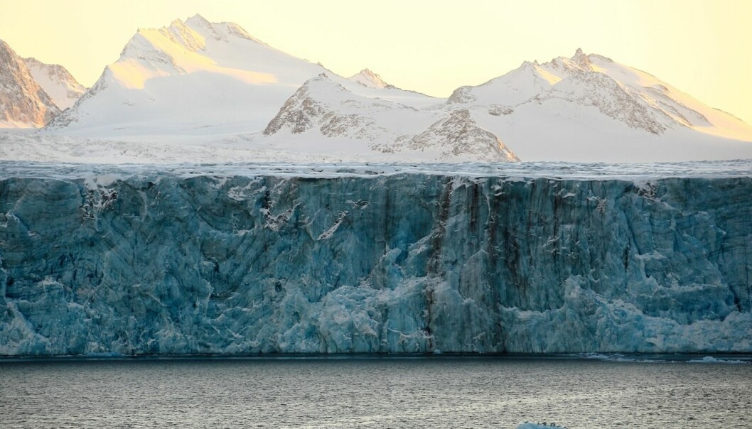 It has been estimated that a third of the sea-level rise the past years has come from glaciers such as Austfonna. (Photo: Colourbox)