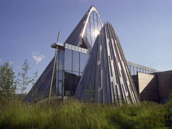 The seat of the Norwegian Sámi Parliament. The peaked structure resembles the tipis the Sami used as a nomadic culture. (Photo: ScanPix)