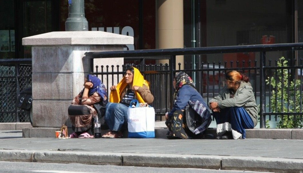 Most beggars interviewed say they want a job, but it's hard when they neither speak the language nor have the necessary qualifications, according to researcher Ada I. Engebrigtsen. (Photo: Scanpix, Lise Åserud)