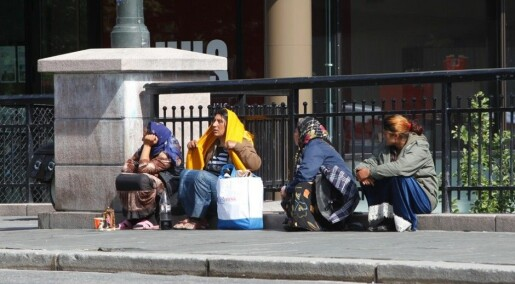 Mixed feelings about beggars in Norway