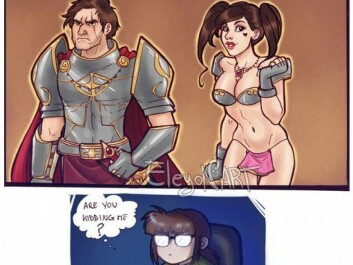 Stereotypical game characters have become a subject for jokes within parts of the online gaming circles. (Photo: eleyonart.deviantart.com)