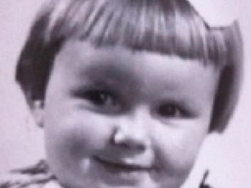Turid Dehs as a little girl, before she was struck by polio. She still struggles with the problems caused by the disease. (Photo: private)