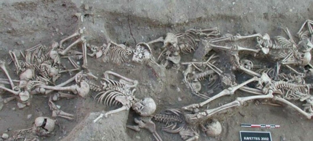 The Black Death came to Europe at different times