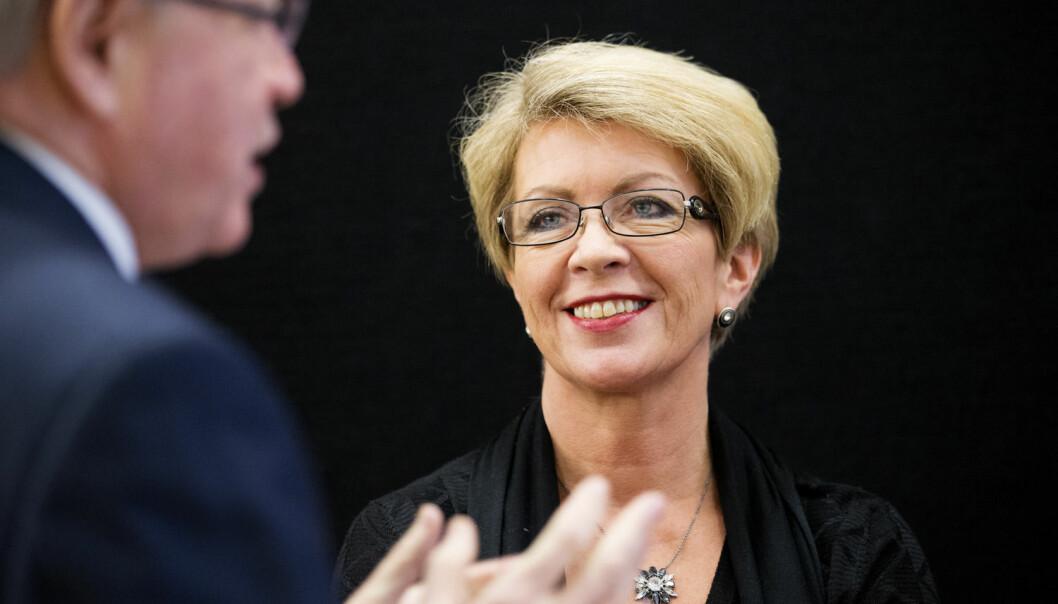 Åslaug Haga resigned in 2008. (Photo: Scanpix)