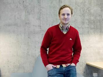 Mathias Ekström, postdoktor ved NHH. (Photo: Helge Skodvin)