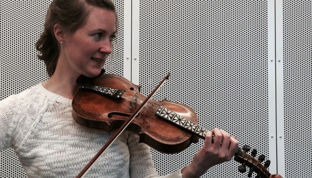 Laura Ellestad is researching the music of Norwegian fiddlers in the USA (Photo: Leif Gjerstad)
