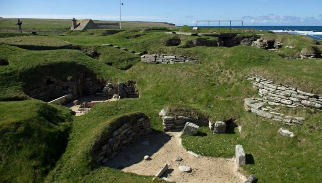 "This is how the populace of the Orkney Islands lived 5,000 years ago. The Stone Age settlement Skara Brae is preserved so well that it is referred to as ""Scotland's Pompeii"". Recently it was discovered that the Orkney Islanders still have a surprising amount of DNA from the people who dwelled there long before the Vikings arrived. (Photo: Georg Mathisen)"