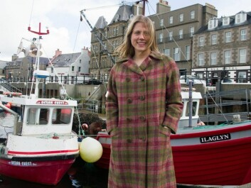 Ragnhild Ljosland conducts research on language. From the Centre of Nordic Studies in Kirkwall she is well aware of how involved the islanders are with their Viking heritage. (Photo: Georg Mathisen)