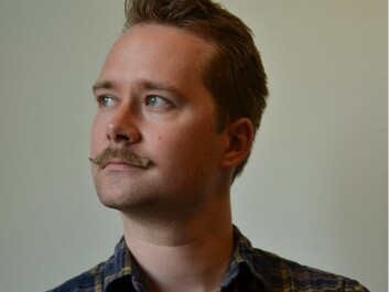 Anders Kvernberg, librarian at the National Library. (Photo: National Library)