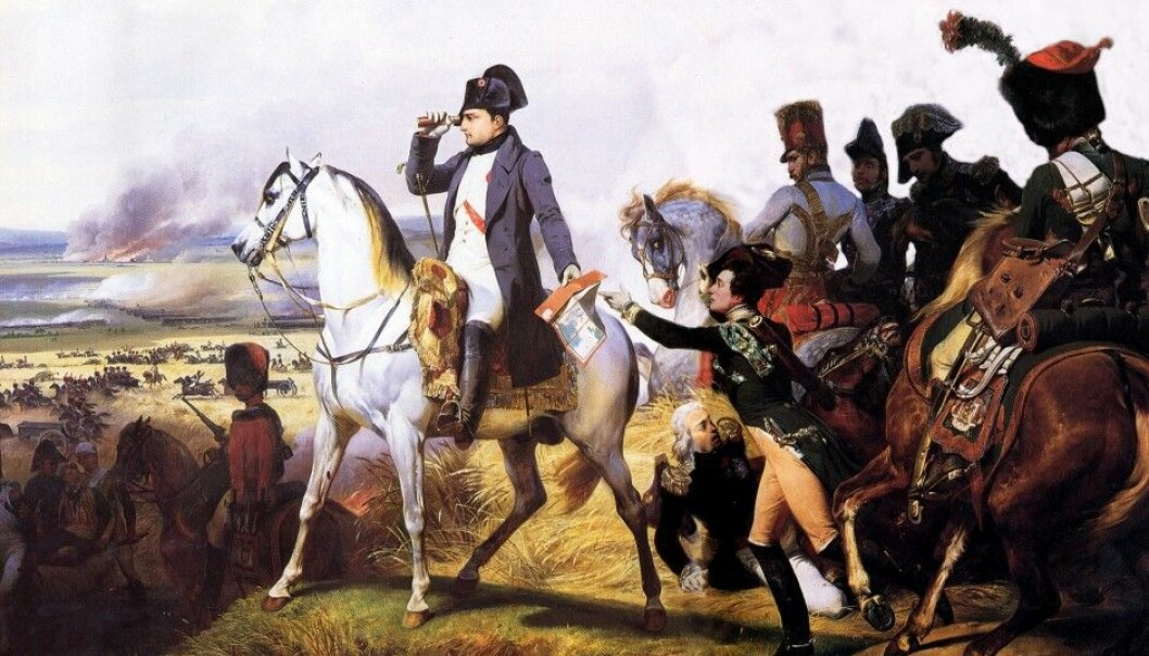 Researchers have found that leaders often have a certain key leadership gene that makes them more decisive and able to take action. Depicted is Napoleon Bonaparte at the Battle of Wagram in 1809. Napoleon is regarded as one of history's strongest leaders. (Illustration: Horace Vernet)