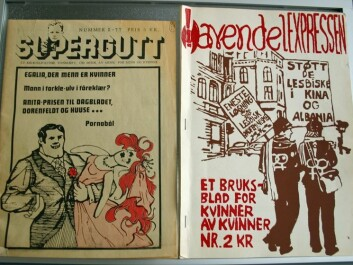 The Queer Archive keeps track of approximately fifty fanzines and journals from the Norwegian lgbt movement through history. (Photo: Ida Irene Bergstrøm)
