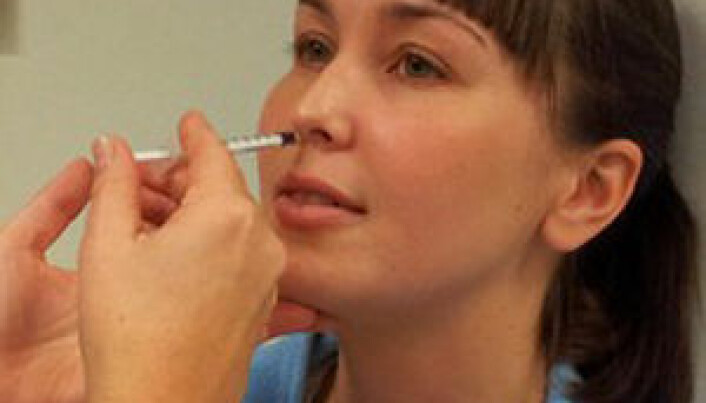 Testing nasal vaccine for HIV treatment