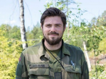 """""""We face methodological challenges when we observe candidates in chaotic situations, where we have to combine what they do with standardized methods,"""" says psychologist Joachim Skouverøe. (Photo: Norwegian Armed Forces)"""