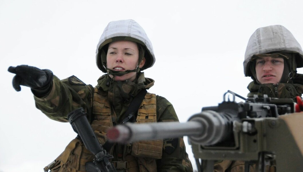 Female soldiers today have a high tolerance for the masculine culture in the military. This may change with the introduction of female conscription. (Photo: Johannes Roaldsen Fürst/The Norwegian Armed Forces)