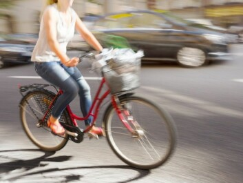 Another kind of cyclist is the basket-on-handlebars rider, mostly 40-, 50- and 60-year olds. They are basically very cautious, but can easily be a bit unpredictable, according to Bjørnskau. (Photo: Microstock)