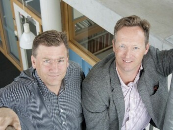 The Swedish professors Olle Melander and Mattias Belting have found a link between a hormone level and breast cancer risk. (Photo: Björn Martinsson)