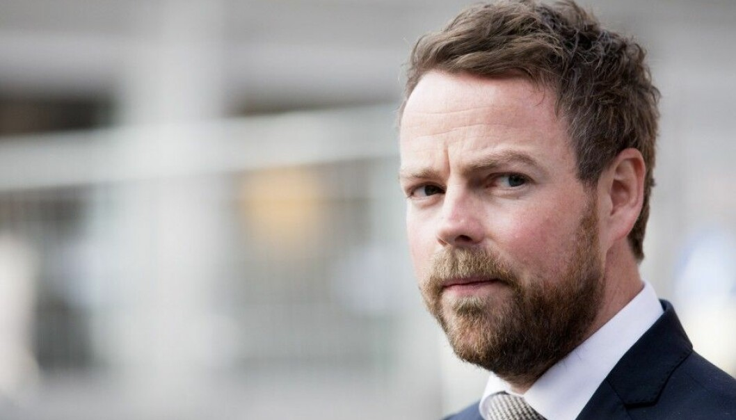 Norway's Minister of Education and Research, Torbjørn Røe Isaksen, of Norway's Conservative Party (Høyre) now knows that a student at Norway's three newest universities costs less than half of what it costs to educate a student at the country's five oldest institutions of higher learning. (Photo: Håkon Mosvold Larsen, NTB scanpix)