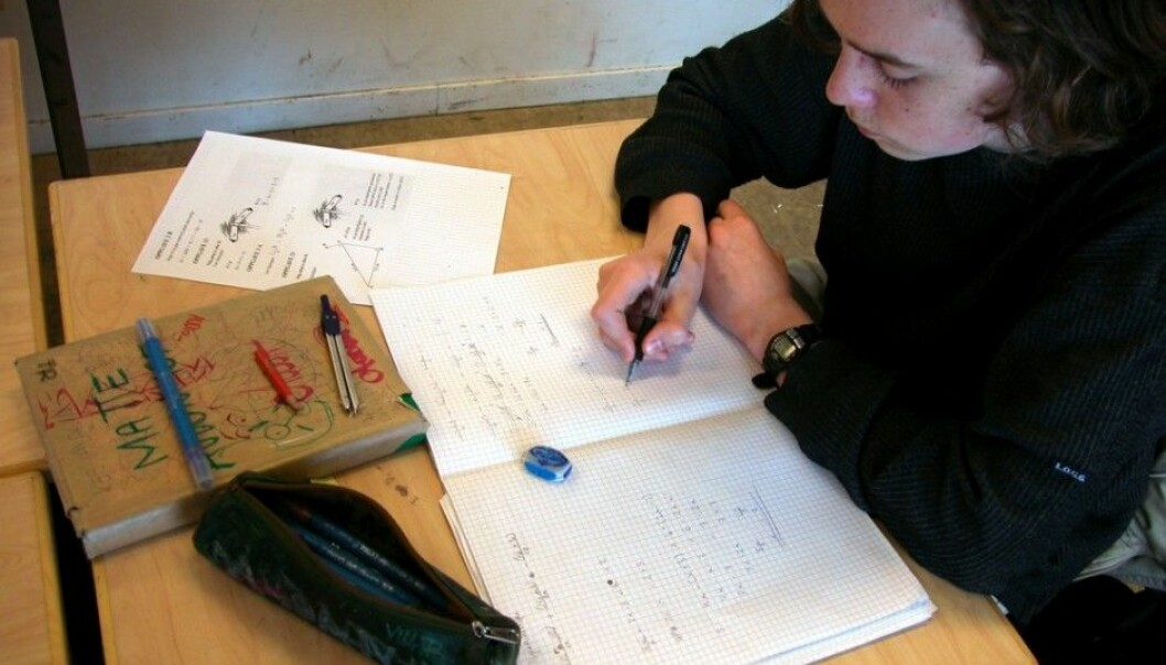 Students who live in a municipality where more than half of students are taught in the minority variety of Norwegian called Nynorsk have better than average scores in national tests. Researchers are trying to figure out why. (Photo: Berit Keilen, scanpix)