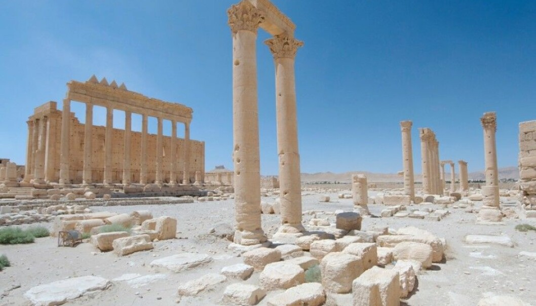 Archaeologists and anyone with respect for human history have feared that the magnificent Temple of Bel [or Ba'al] in Palmyra would be vandalised and destroyed, after the Islamic State (IS) blew up the Baal-Shamin Temple on 24 August. (Photo: Andrey Nekrasov, Scanpix)