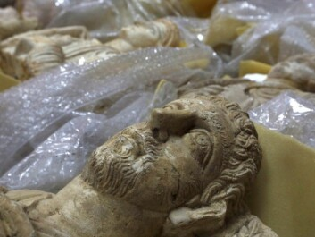 Thousands of cultural treasures are now being saved from destruction and plundering in war-torn Syria. They are often bubble-wrapped like these and hidden in secret places. (Photo: Omar Sanadiki, Reuters)