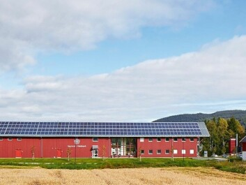 Hedmark University College conducts much of its nature research out of this converted barn on its Evenstad campus in Østerdalen. (Photo: Statsbygg)