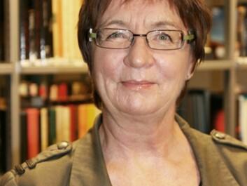 Professor Svanhild Aabø. (Photo: Åshild Losnegard)