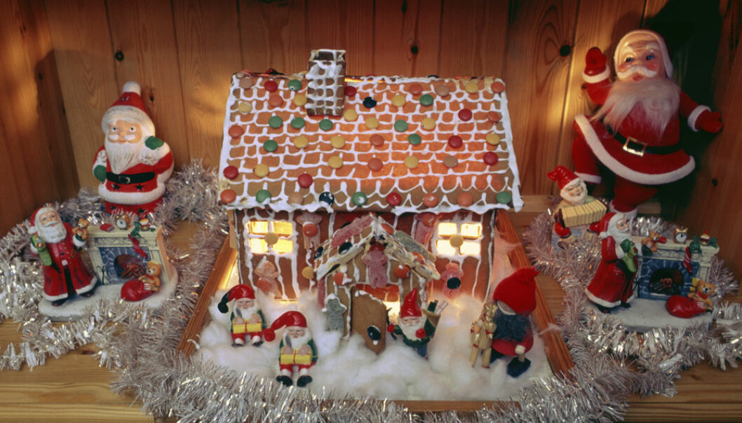 Most households overflow with sweets at Christmas time. (Photo: Colourbox)