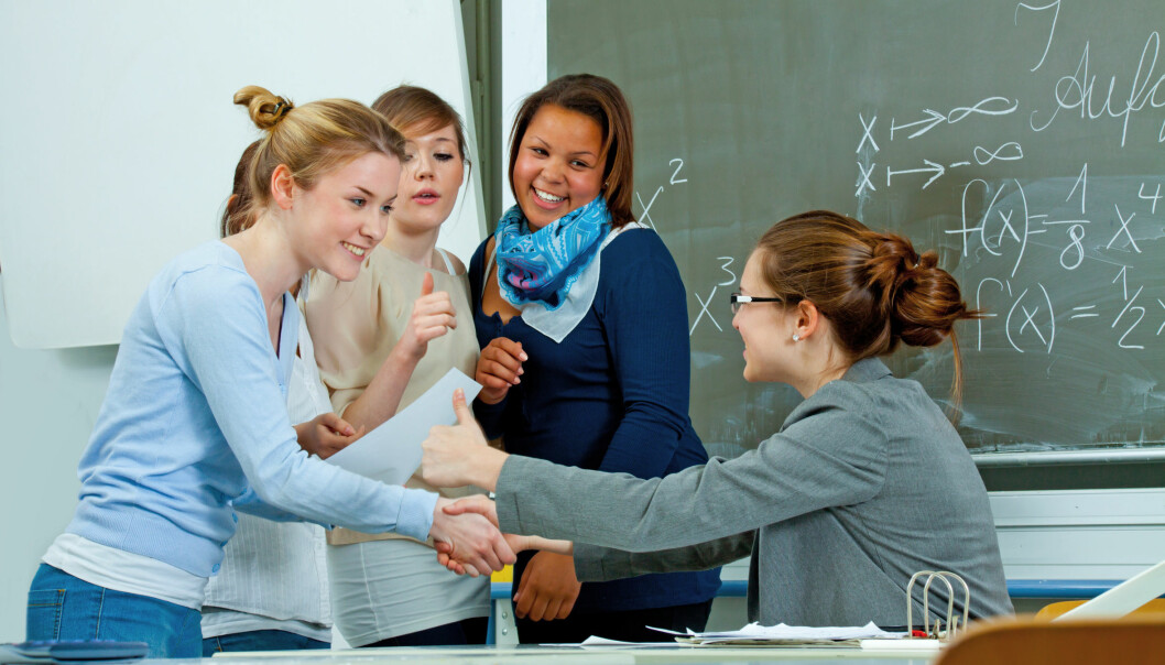 It's up to pupils to decide how, when or whether they wish to influence some of their teaching. This favours kids who have the most friends. (Illustration photo: Microstock)