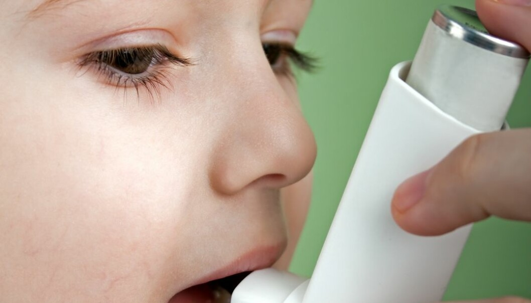 A study of prescription data provides an indication of the prevalence of asthma among youngsters. (Photo: Colourbox)