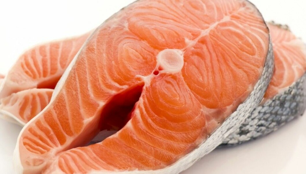 Scientists in Trondheim have learned more about why omega-3 fatty acids are good for us. Despite a reduction in the omega-3 content in farmed salmon, there is still enough left over to make it a healthy food. (Photo: Microstock)