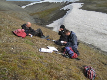 A team of scientists have retraced the footsteps of another group of researchers, who first mapped the vegetation here in the 1960s and 1970s. (Photo: Rene van der Wal/The Conversation)