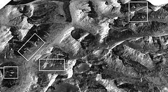 Detecting avalanches with satellite radar