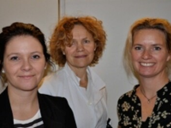 From left: Ragnhild Justad-Berg, Anne Eksild and Ellen Marie Strøm-Roum have used data from the Norwegian Register of Pregnancy Termination to investigate how many women in Norway have more than one abortion. (Photo: Ahus)
