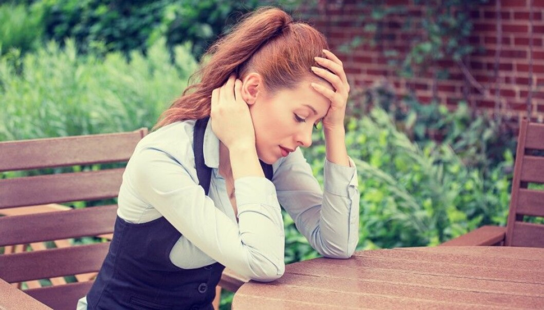 Many girls between the ages of 12 and 18 suffer from some kind of recurring headaches. Many alleviate pain by going home from school or lying down to rest. (Illustrative photo: Microstock)