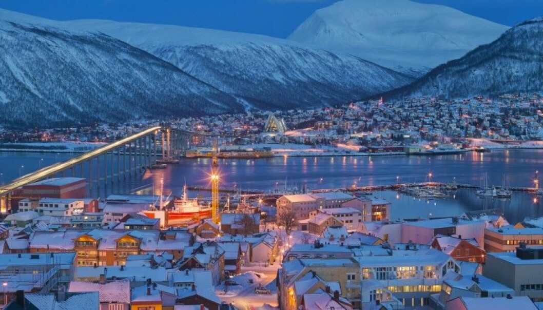 After a while, Kari Leibowitz realized that people in Tromsø really look forward to the winter, with its snow, skiing, candles, tours to mountain huts, bonfires and northern lights. (Photo: Bård Løken, NN, Samfoto, NTB Scanpix)