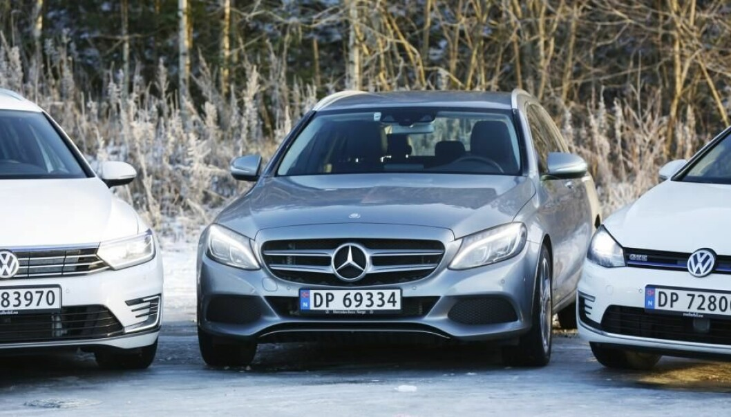 Volkswagen is Norway's most prevalent make of car, and Mercedes carries high status. Yet neither of these can claim the most loyal vehicle owners, according to a study from Nord University. (Photo: NTB Scanpix)