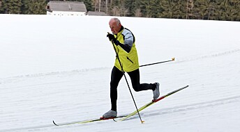 The physics of cross-country skiing