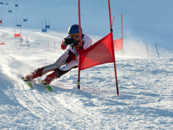 Glide wax is used on the entire ski for alpine skiing. (Photo: Colourbox)