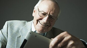 Old folks are keen internet users