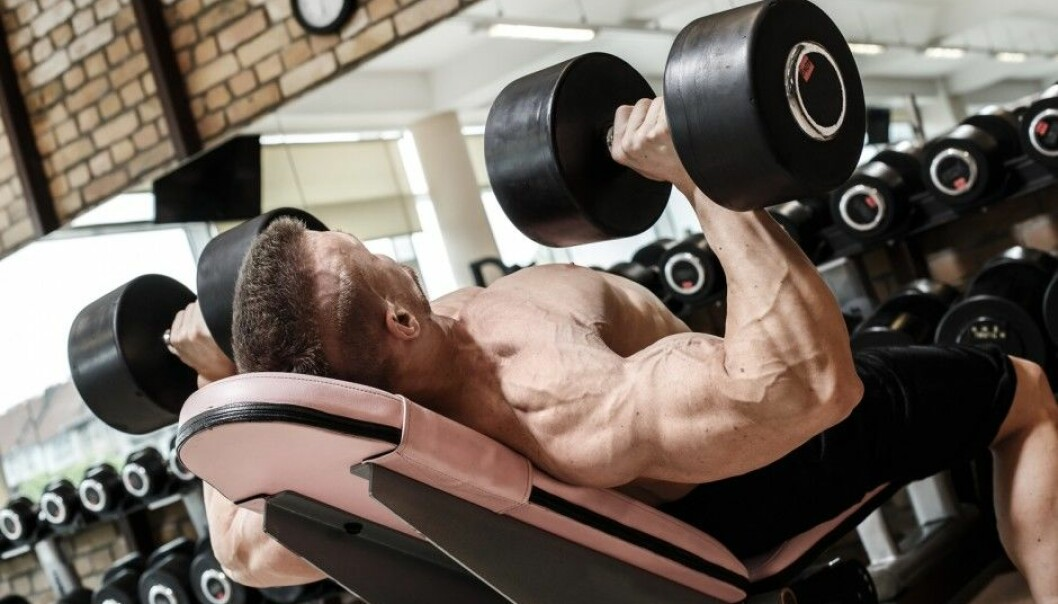 For some bodybuilders, doping is a natural part of building muscle mass. Many users deny that doping has side effects, says Bjørn Barland, a researcher at the Norwegian Police University College. (Photo: Shutterstock/NTB scanpix)