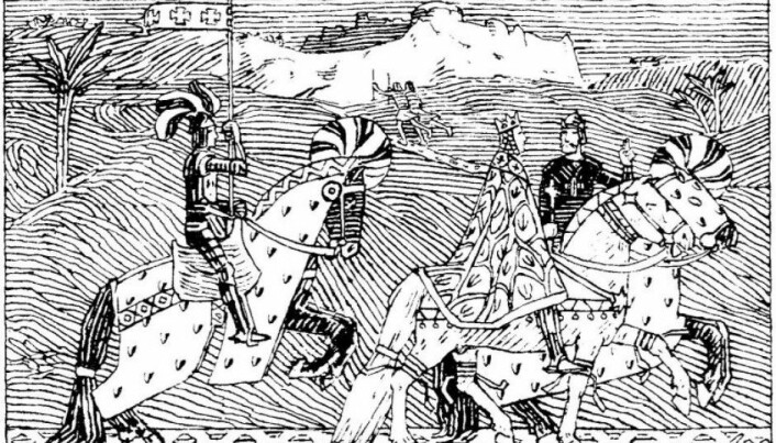 Who were the first Norwegian crusaders?