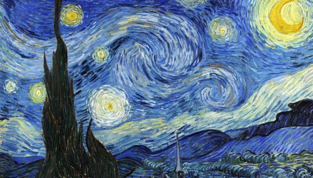 "Vincent van Gogh's ""Starry night"" painting blends reality with an other-worldly starry universe. Perhaps he knew something about the nature of the universe that we are just beginning to understand. (Photo: Museum of Modern Art, made available by Wikimedia Commons)"