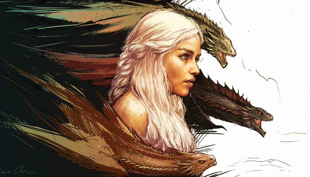 Ten researchers have taken on the phenomenon that is Game of Thrones in a new book. (Illustration: Yama Orce)