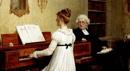 Piano – the best suited instrument for the female body
