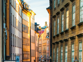 In the narrow streets of the old part of Stockholm street-cleaning programmes were established during the Middle Ages. But this was more a matter of foul odours and aesthetics than environmentalism. (Photo: Colourbox)