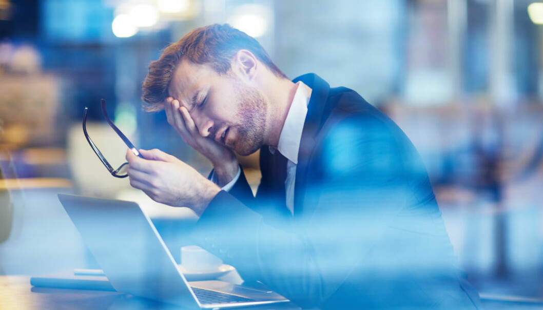 Workaholics tend to have more psychiatric disorders than others. (Photo: Colourbox)