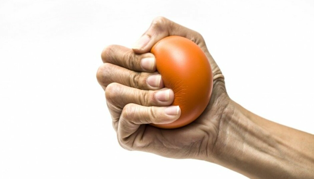 A total of 6,850 participants aged 50 to 80 took part in the new Norwegian study of grip strength and causes of death. (Photo: Chutima Chaochaiya, Shutterstock, NTB scanpix)