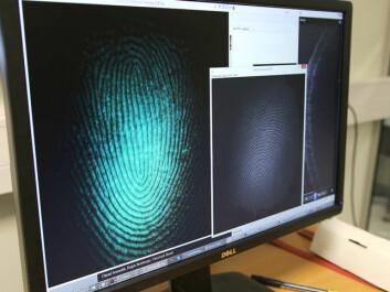 Ctirad Sousedik at NTNU's Biometrics Laboratory in Gjøvik says better methods are needed to strengthen security. (Photo: Marte Helene Foss)