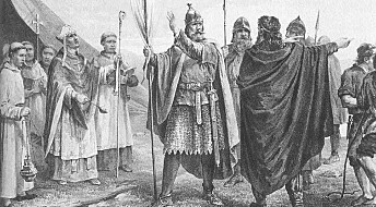 Why did the Vikings take hostages?