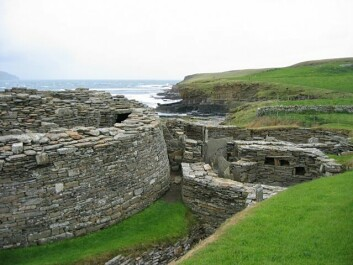 Midhowe Broch, remnants of an ancient settlement in the Orkney Islands. The Orkneys were invaded by Norwegian Vikings in 875. (Photo: Rob Burke/ CC BY-SA 2.0)